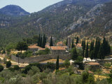 Nea Moi Monastery  Chios  North Aegean Islands  Greek Islands  Greece  Europe