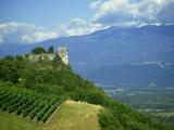 Chateau Le Miolans  Near Chambery  Savoie  Rhone Alpes  France  Europe