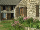 Exterior of a Village House at Wallers Trelon in Picardie  France  Europe
