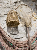 Fishing Nets  Harbour  Cefalu  Sicily  Italy  Europe