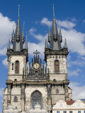 Church of Our Lady before Tyn  Old Town Square  Old Town  Prague  Czech Republic  Europe