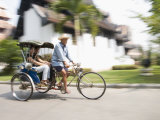 Cycle Rickshaw  Chiang Mai  Thailand  Southeast Asia