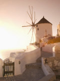 Windmill  Oia  Santorini  Cyclades Islands  Greek Islands  Greece  Europe