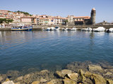 Chateau Royal  Eglise Notre-Dame-Des-Anges  Collioure  Pyrenees-Orientales  Languedoc  France