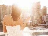 Latin Woman Lifestyle  Miami  Florida  United States of America  North America