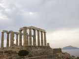Temple of Poseidon  Cape Sounion  Greece  Europe