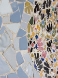 Detail  Parc Guell  UNESCO World Heritage Site  Barcelona  Catalonia  Spain  Europe