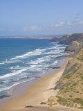 Costa Vincentina  Praia Do Castelejo and Cordama Beaches  Algarve  Portugal