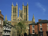 Lincoln Cathedral  Lincoln  Lincolnshire  England  United Kingdom  Europe