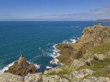 Irish Lady Rock under Mayon Cliff  Near Sennen Cove  Cornwall  England  UK