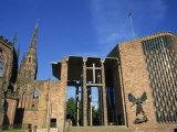 Cathedral Church of St Michael  Old and New  Coventry  Warwickshire  West Midlands  England  UK