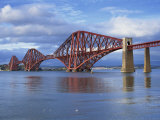 Forth Railway Bridge  Queensferry  Near Edinburgh  Lothian  Scotland  United Kingdom  Europe
