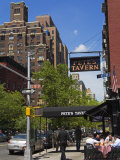 Pete's Tavern on Irving Place  Gramercy Park District  Manhattan  New York City  Ny  USA