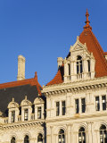 State Capitol Building  Albany  New York State  United States of America  North America