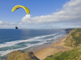 Paraglider  Costa Vincentina  Near Vila Do Bispo  Algarve  Portugal