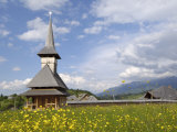 Wooden Church  Fundata  Transylvania  Romania  Europe