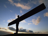 Angel of the North Statue  Newcastle Upon Tyne  Tyne and Wear  England  United Kingdom  Europe