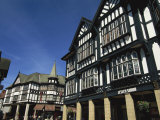 Tudor Fronted Buildings  Knifesmithgate  Chesterfield  Derbyshire  England  United Kingdom  Europe