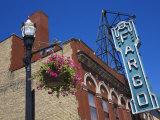 Fargo Theatre on Broadway Street  Fargo  North Dakota  United States of America  North America