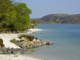White Sandy Beach  Morar  Highlands  Scotland  United Kingdom  Europe