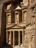 Al Khazneh  Rock-Cut Building Called the Treasury  Archaeological Site  Petra  Jordan  Middle East