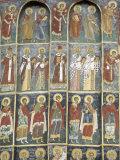 Painted Monastery of Sucevita  Moldavia  Southern Bucovina  Romania  Europe