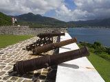Fort Shirley in Cabrits National Park  Portsmouth  Dominica  Windward Islands  West Indies