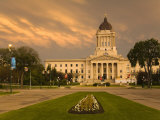 Legislative Building  Winnipeg  Manitoba  Canada  North America