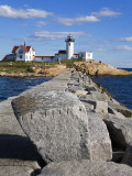 Eastern Point Lighthouse  Gloucester  Cape Ann  Massachusetts  New England  USA