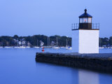 Derby Wharf Lighthouse  Salem  Greater Boston Area  Massachusetts  New England  USA