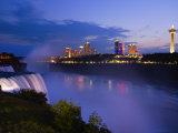 American Falls at Niagara Falls  Niagara Falls  New York State  USA