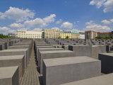 Memorial to the Murdered Jews of Europe  or the Holocaust Memorial  Ebertstrasse  Berlin  Germany