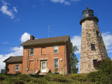 Charlotte-Genesee Lighthouse Museum  Rochester  New York State  USA