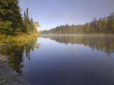 Hoe Lake  Boundary Waters Canoe Area Wilderness  Superior National Forest  Minnesota  USA