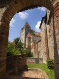 Castle Burg Trausnitz  Landshut  Bavaria  Germany  Europe