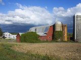 Farm Near Leichester  Greater Rochester Area  New York State  USA