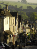 High Street  Burford  Oxfordshire  the Cotswolds  England  United Kingdom  Europe
