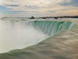 Horseshoe Falls Waterfall on the Niagara River  Niagara Falls  Ontario  Canada