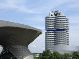 Bmw Welt and Headquarters  Munich  Bavaria  Germany  Europe