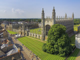 Kings College and Chapel  Cambridge  Cambridgeshire  England  United Kingdom  Europe