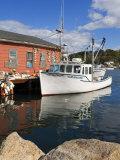 Boathouse in Rocky Neck  Gloucester  Cape Ann  Greater Boston Area  Massachusetts  New England  USA