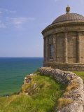 Mussenden Temple  Part of the Downhill Estate  County Londonderry  Ulster  Northern Ireland