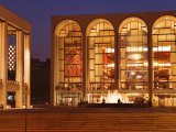 Lincoln Center  Upper West Side  Manhattan  New York City  New York  USA