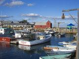 Rockport Harbor  Cape Ann  Greater Boston Area  Massachusetts  New England  USA