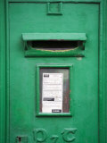 Post Box in Tipperary Town  County Tipperary  Munster  Republic of Ireland  Europe