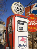 Gas Pump  General Store and Route 66 Museum  Hackberry  Arizona  USA