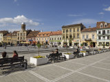 Piata Sfatului  Brasov  Transylvania  Romania  Europe