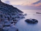 Giant's Causeway Near Bushmills  County Antrim  Ulster  Northern Ireland  UK