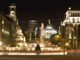 Cibeles Square  Madrid  Spain  Europe
