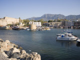 Fort and Harbour  Kyrenia  North Cyprus  Mediterranean  Europe